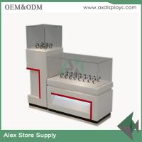 Quality Watch store display showcase counter design images glass display MDF  cabinet for sale
