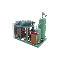 China R507 Cold Storage Refrigeration Units For Screw Compressor on sale