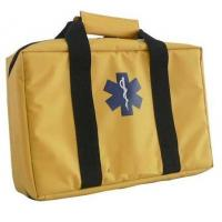 Quality Nylon / 420D smooth Yellow Emergency Travel First Aid Kit Bags for Vehicle for sale