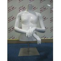 Quality FRP Half-body Female mannequin for sale