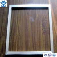 Quality Top quality silver anodized matt aluminum photo frames for sale