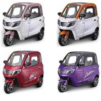 Quality 60V 58Ah Battery Long Travel Passenger Electric Tricycle for sale