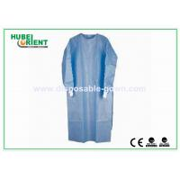 China Anti Static Disposable Surgical Gowns Disposable Lab Coat Long Sleeves on sale