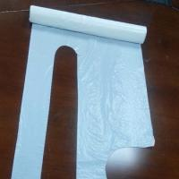 Quality Stable Disposable White Plastic Aprons LF-A-005 Good Insulating Property for sale