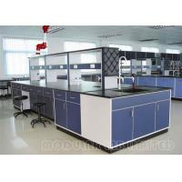 Quality Epoxy Resin Laboratory Table Tops / Lab Work Benches Painted Steel Phenolic Resin for sale