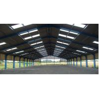 Quality Prefabricated Industrial Steel Building With H Type Columns And Beams for sale