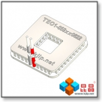 Quality TEO1-059 Series (S8xS22mm) Peltier Chip/Peltier Module/Thermoelectric Chip/TEC/Cooler for sale