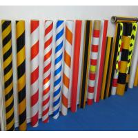 Quality Reflective Slant Stripe Warnning Sheeting, Reflective Cautions Tape for sale