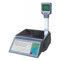 Quality Barcode lable scale/LP-16/color screen/LCD/double display for sale