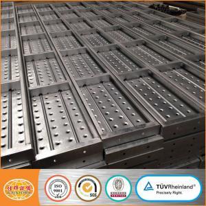 Quality Cuplock Scaffolding Steel Plank/Platform/Metal deck/Board for sale