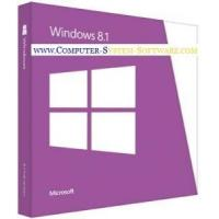 Quality Professional 64 bit Windows 8.1 Product Key Code Retail Box OEM version for sale