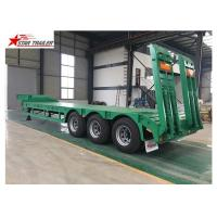Quality Q345B Steel Frame Heavy Transport Trailer For Heavy Transportation for sale