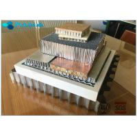 Buy cheap High Flat Surface Aluminium Honeycomb Sandwich Panel Excellent Weather from wholesalers