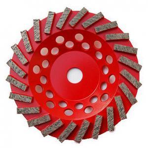 "Quality 7"" inch Concrete Diamond Grinding Wheel   Swirl Grinding Diamond Cup Wheel for Concrete   Extra Soft Diamond cup Wheel for sale"