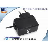 China PC Housing EU 5V 1A AC DC Power Adapter for Microphone , 1.5M Cable Length on sale