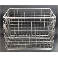 Quality Washing and Degreasing Wire Basket ,Wash Basket, Cleaning Basket, Sterilization Mesh Tray, Ire Sterilization Baskets for sale