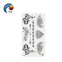 Quality Temporary Tattoo Waterproof Arm Leg Art Stickers Removable Birds and Flowers Tattoo Design for sale