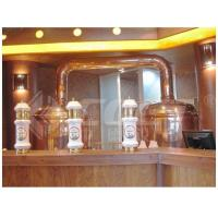 China 500L Red Copper Brewing Equipment Home Beer Brewing Kit 1 Year Warranty on sale