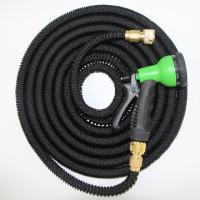 Quality Expandable Flexible Garden Water Hose with Brass Fittings and Garden Hose Nozzle Sprayer for sale