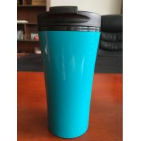 Quality 12oz double wall plastic tumbler mighty mug suction beverage bottle suction mug 350ml coffee tumbler for sale