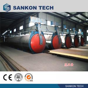 Quality SANKON Vertical Autoclave Machine for aerated concrete block for sale