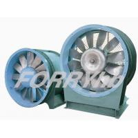 Quality TVF series Axial fan Blower for Tunnel/Metro Ventilation with cast aluminum impeller for sale
