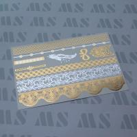 Quality Flash gold foil tattoo. for sale