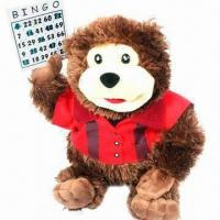 Quality Plush Toy, Bear-shaped with Christmas Scarf for sale