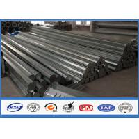 Buy HDG Galvanized Steel Pole 3.5m ~ 15m Height Options galvanized metal tubing at wholesale prices