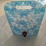 Quality Custom Blue Printing Vertical Liquid Water Packaging Bag Leakproof SGS for sale
