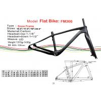 """China Fat Carbon Bike Frame of Internal Cable Routing in 15.5"""" 17.5"""" 19"""" 20.5"""" HT-FM366 on sale"""
