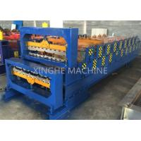 Quality Aluminum Metal Roofing Sheet Making Machine , Steel Tile Forming Machine for sale