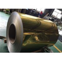 Quality 1100 Alloy Polished Aluminum Sheet  Rich Color For Decoration Materials Used for sale