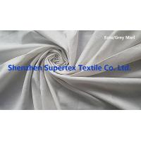 Quality Garment Cotton Twill Fabric Wholesale Yarn Dyed Grey Marl Color AZO FREE for sale