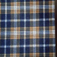 Quality red black check pattern fabric/plaid/stripe tartan shirt fabric 100% cotton yarn dyed flannel fabric price for sale