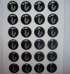 Quality clear epoxy sticker for sale