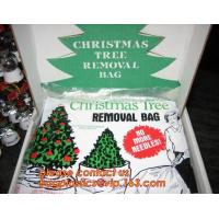 Quality Promotion large removal waterproof Christmas artificial decorated tree bag,10 Ft Christmas Tree Removal Gift Bags packag for sale