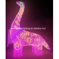 Quality large dinosaur outdoor christmas decorations for sale