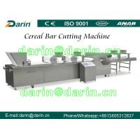 Quality DRC-75 Peanut Brittle / Peanut Crunch Bar / Sesame Candy Bar Making Machine Cutting Line with Touch Screen for sale