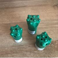 China small rock drill bit Taper 7 Degree Button Bit Heavy Duty Button Drill Bit Rock Drill Parts Used In Marble Quarry on sale