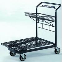 Quality Custom Unfolding Market Portable Shopping Cart  Heavy Duty Mesh Airline for sale