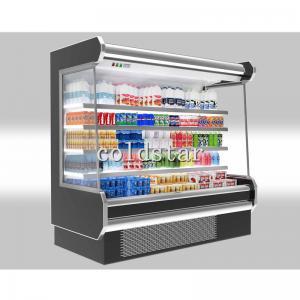 Quality Fruit Display Refrigerator Supermarket Multi-deck Open Display Chiller For Sale for sale