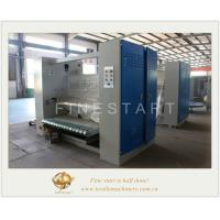 Quality Tubular Compactor machine is used for preshrinking and ironed tubular fabric, and equipped with magnetic separating shut for sale