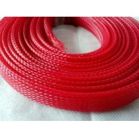 Quality Flame Resistance Flexo Pet Expandable Sleeving For Wire Harness Protection for sale