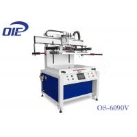Quality Dual Axis Motor Driven Flatbed Screenprinting Machine For Plastic Sheet for sale