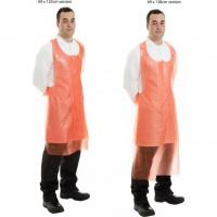 Quality Compostable Red Biodegradable Aprons Lightweight For Food And Medical for sale