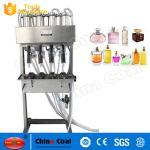 Quality New Semi Automatic 4-heads Vacuum Perfume Liquid  Filling Machine for sale