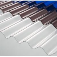 China High Light Transmission Clear Corrugated Polycarbonate Sheets For Greenhouse on sale