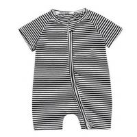 China Fashionable Baby Clothes Newborn Striped Romper Clothing For Infant Toddlers on sale
