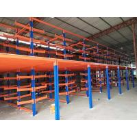 Quality Steel Structure Cantilever Heavy Duty Metal Rack With Vertical Column for sale